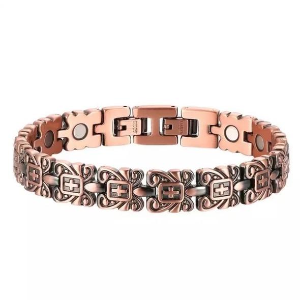 Strength - Solid Copper  magnetic bracelet