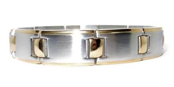 Golf Pro Stainless Steel  Magnetic Bracelet