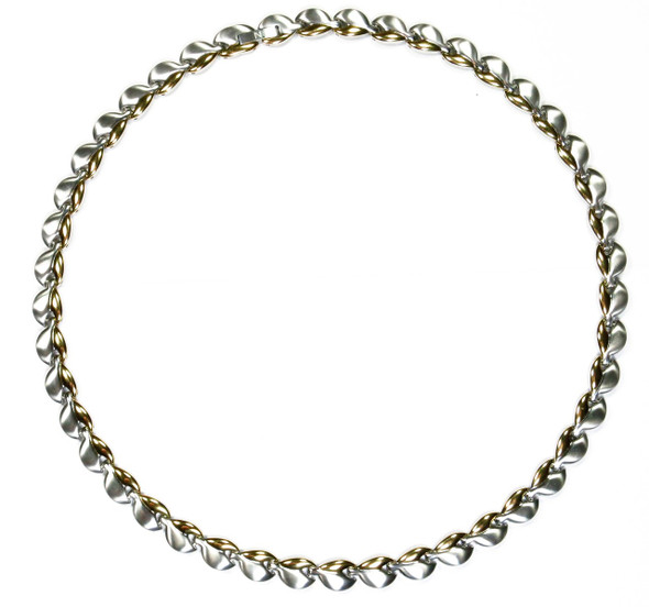 Gold Tone Choice - gold-plated Stainless Steel Magnetic Necklace