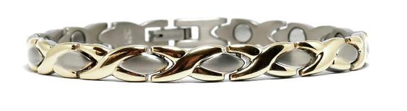 Titanium XOXO -  Titanium Magnetic Bracelet