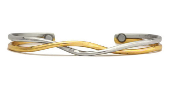 Sergio Lub Yin Yang - Magnetic  Bracelet - Made in USA!