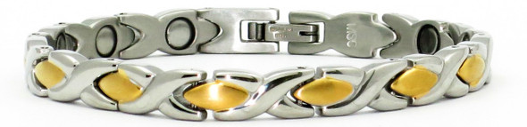 Inverse XOXO - Stainless Steel Magnetic  Bracelet