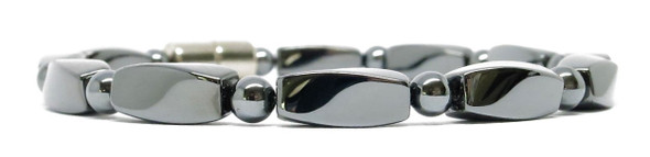 Hematite Twist - Magnetic Therapy Anklet