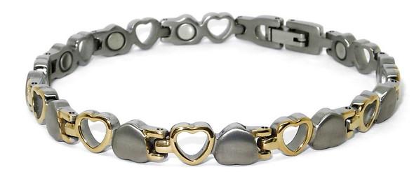 Opposites Attract -  Titanium magnetic bracelet