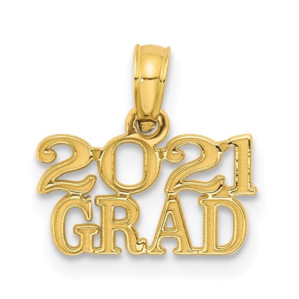 14k Rose Gold 2021 GRAD Pendant