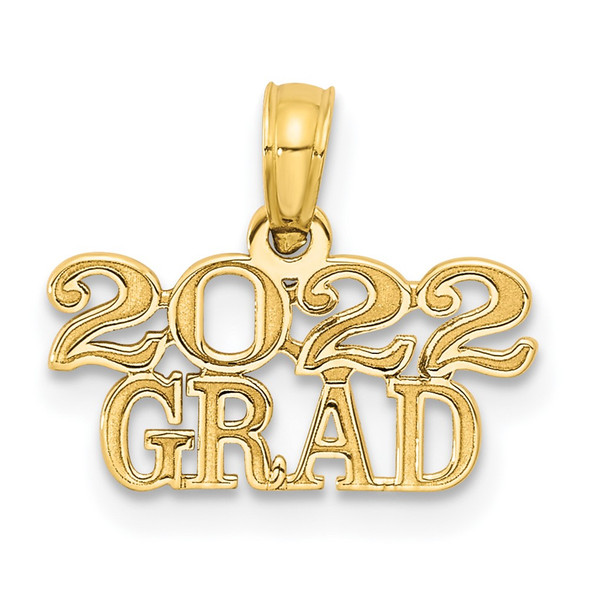 14k Rose Gold 2022 GRAD Pendant