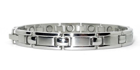 Silver Glory - Silver-Plated  Magnetic    Bracelet