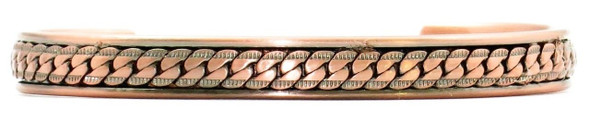 Athena - Solid Copper Magnetic Therapy Bracelet