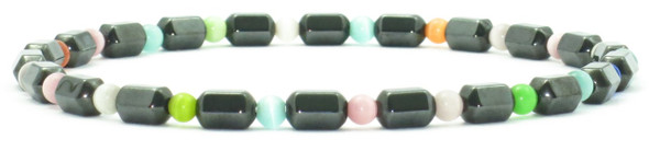 Hematite Colors - Magnetic   Anklet - Special