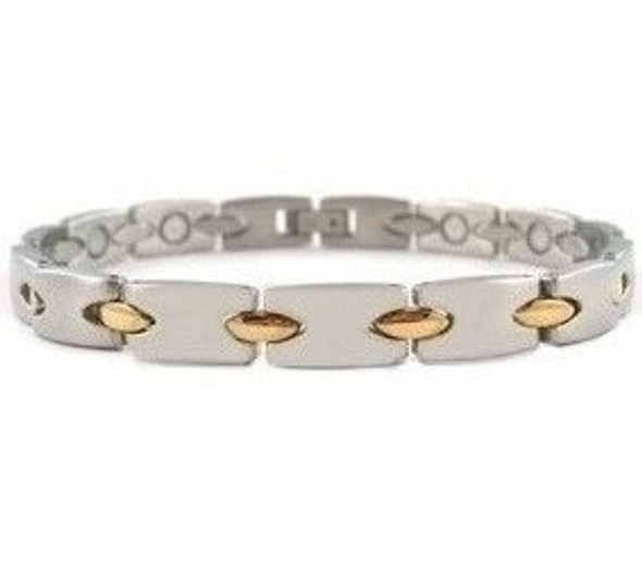 Gold Connection - gold-plated Stainless Steel magnetic bracelet