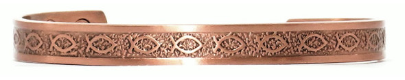 Ichthus - Solid Copper Cuff Bracelet