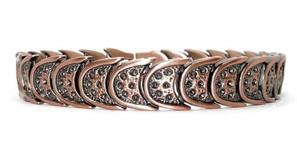 Wild West  - Copper Plated Magnetic Bracelet