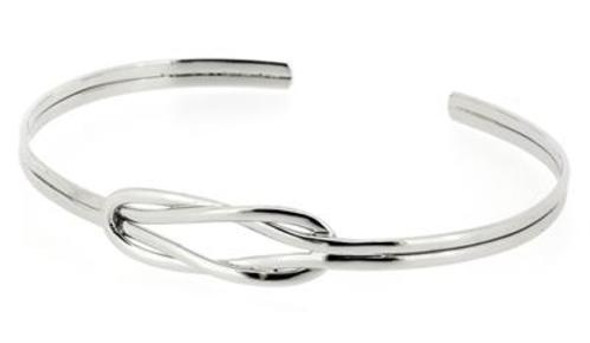 Q Ray  Love Knot 925 Silver