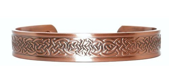 Celtic Braids Solid Copper magnetic bracelet