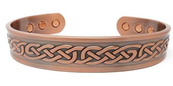 Knots Solid Copper magnetic bracelet