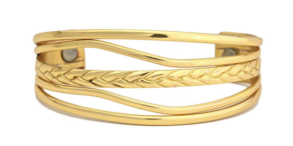 Sergio Lub High Tide Brushed Magnetic Magnetic Bracelet - Made in USA!