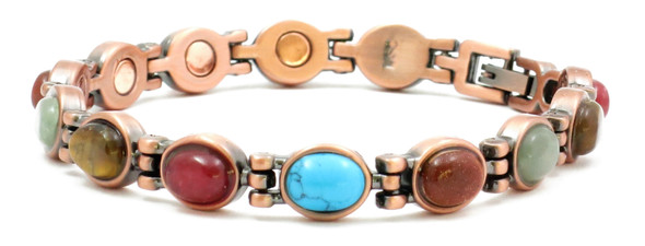 Glamour - Copper Plated Magnetic Bracelet