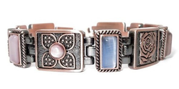 Angelica - Copper Plated Magnetic Bracelet