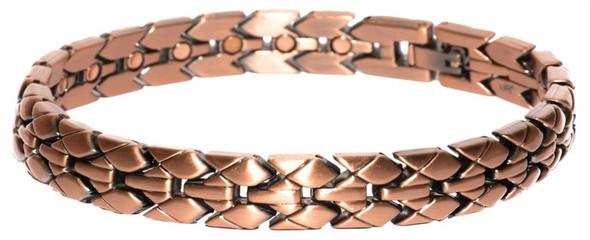 Lizard Skin  - Copper Plated Magnetic Bracelet