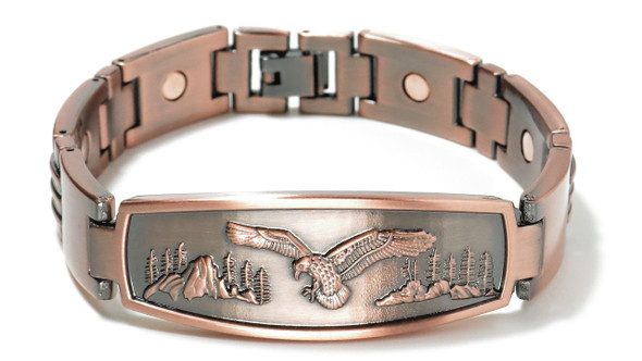 Eagle - Copper magnetic bracelet