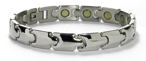 Flash - silver-plated  Magnetic    Bracelet