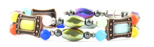 Jazzy - Hematite magnetic bracelet