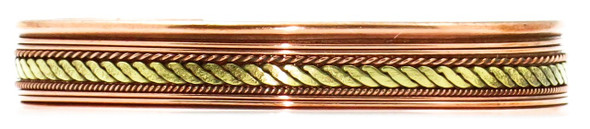 Comfort34 - Solid Copper Cuff Bracelet
