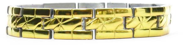 `- Gold Elite - gold-plated  Magnetic  Bracelet