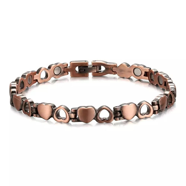 Solid Love - Solid Copper  Magnetic Bracelet
