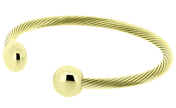 Q-Ray Deluxe gold-plated Bracelet