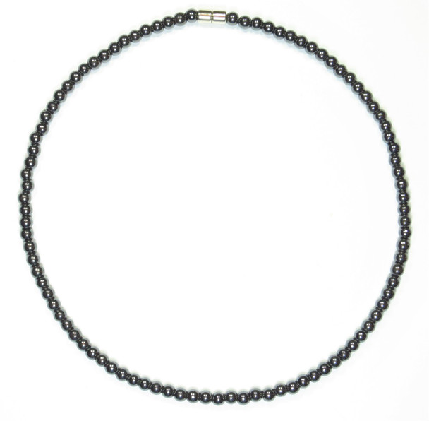 Hematite Classic - Magnetic Necklace