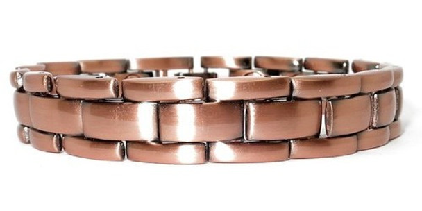 Copper Bricks - Copper Plated Magnetic Therapy Bracelet