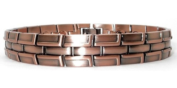 Copper Tracks - Magnetic Bracelet