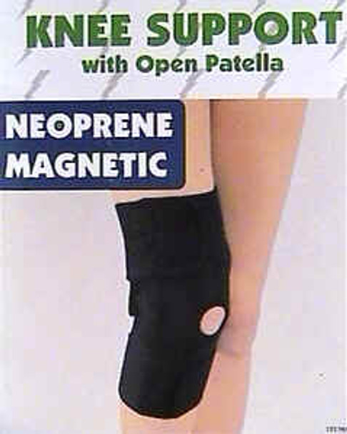 Magnetic Knee Wrap - w- Kneecap Opening