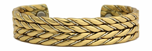 Sergio Lub Shaman's Feather - Magnetic  Bracelet - Made in USA!--