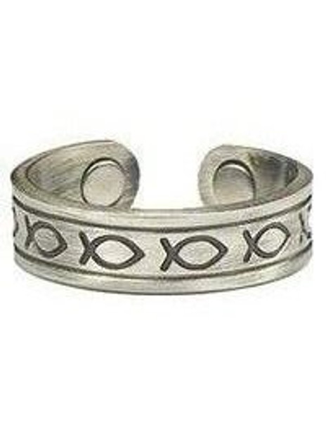 Ichthus - Magnetic Therapy Ring