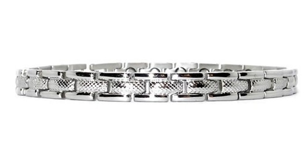 Tennis Classic - Stainless Steel Magnetic Therapy Bracelet