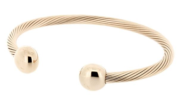 Q Ray Bracelet - Deluxe Rose gold-plated Bracelet