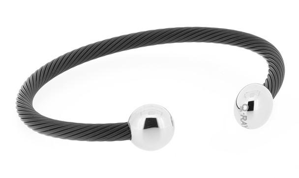 Q Ray Bracelet - Black and White Deluxe