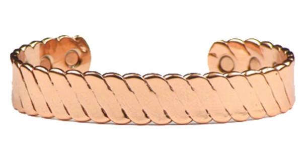 Denver - Solid Copper Magnetic Therapy Bracelet
