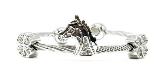 Good Luck - Stainless Steel Magnetic Therapy Cuff