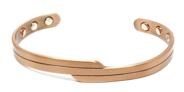 Danish - Solid Copper Magnetic Therapy Cuff Bracelet