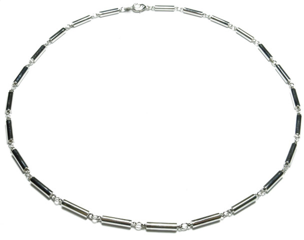 Classic Chain - Silver-Plated Magnetic Therapy Necklace