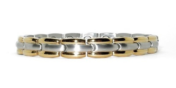 Morning Glow - Stainless Steel Magnetic Therapy Bracelet