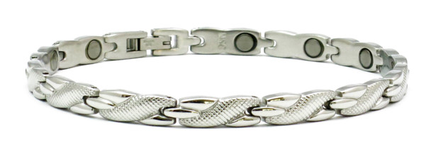 Winding River - Stainless Steel Magnetic Therapy Bracelet