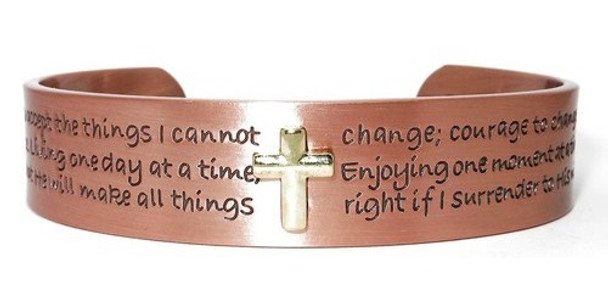 Grace Solid Copper Magnetic Therapy Bracelet