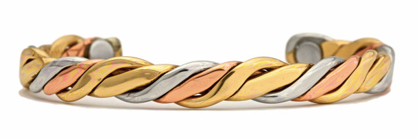 Sergio Lub  River Copper Magnetic Therapy Bracelet - Made in USA!