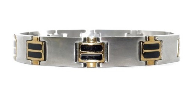 Advanced - Stainless Steel Magnetic Bracelet  With 5,000 Gauss Magnets Per Link