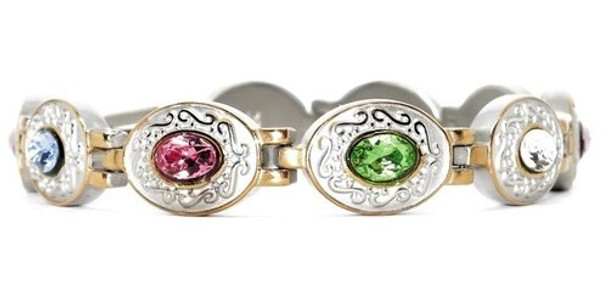 Exquisite Medley gold-plated - Stainless  Steel Magnetic  Bracelet