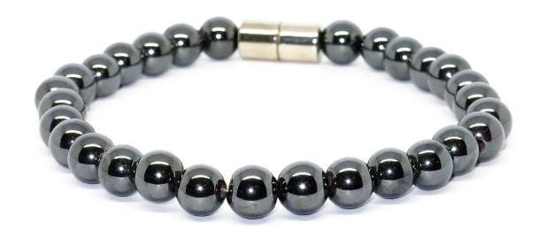 Hematite Spheres - Magnetic Therapy Bracelet